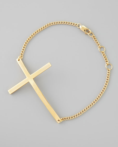 Integrated Cross Bracelet