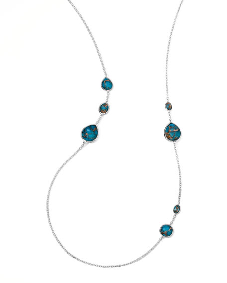 Wonderland Gelato Turquoise Station Necklace