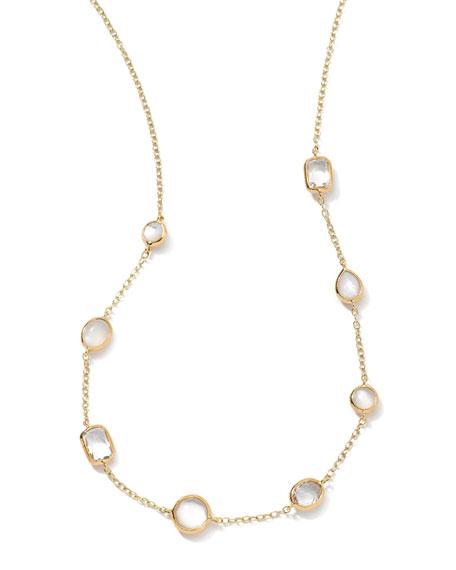 18k Gold Rock Candy Mini Gelato Station Necklace, Flirt