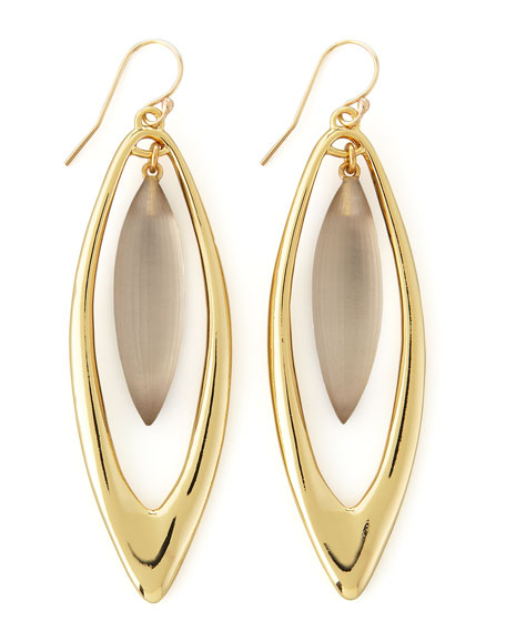 Neo Boho Large Marquise Drop Earrings