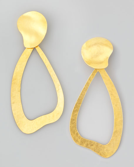 Vibrations Wavy Drop Earrings