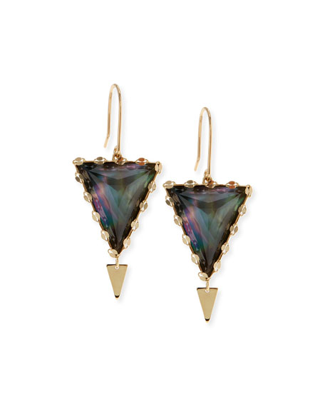 MYSTIQ DOUBLE SPIKE EARRINGS