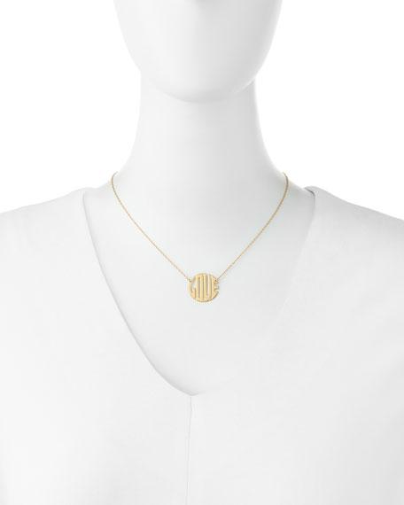 Mini Art Deco Love Necklace
