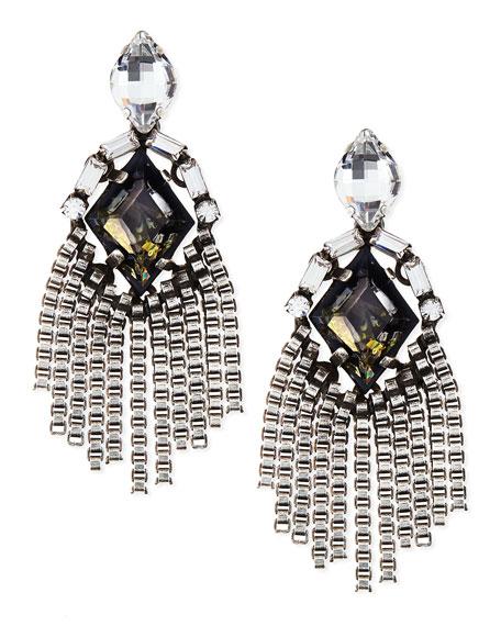Allegra Crystal Drop Earrings