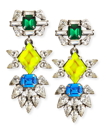 Dorothy Crystal Earrings