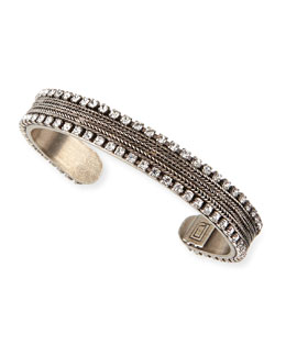 Lipp Crystal-Trim Cuff