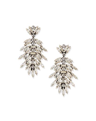 Leigh Crystal Drop Earrings