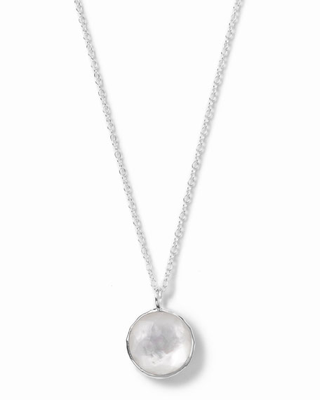 Wonderland Small Round Pendant Necklace