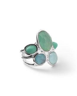 Wonderland Silver 5-Stone Ring