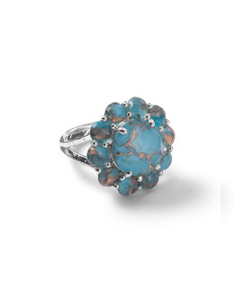 Wonderland Bronze Turquoise Ring