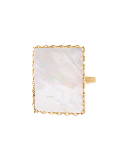 Costa Blanca Mother-of-Pearl Ring