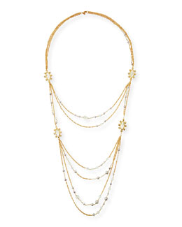 Elements Multi-Strand Layered Necklace