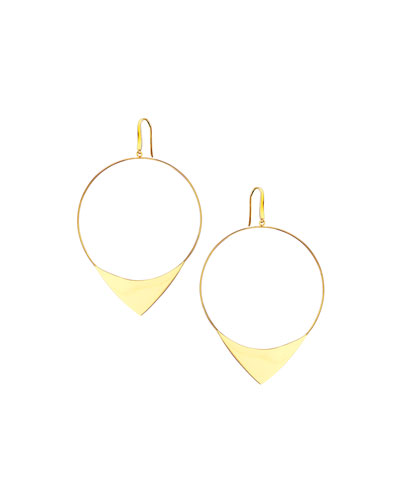 14k Large Elite Hoop Earrings