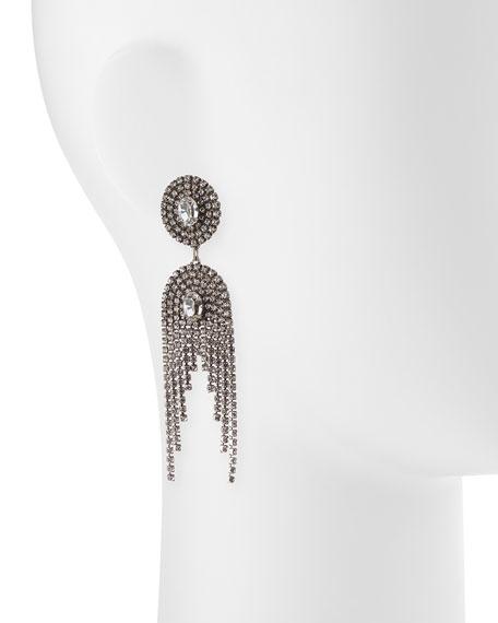 Paltrow Crystal Fringe Earrings
