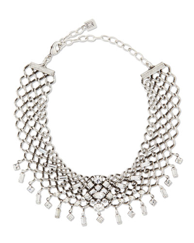 Marianna Jet Choker Necklace