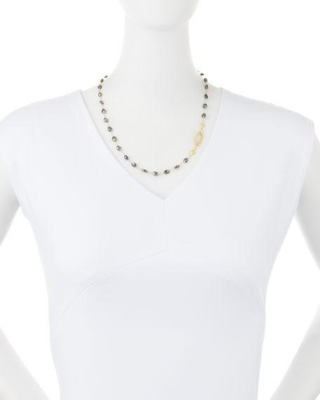 Sueno Silverite Beaded Cravelli Necklace