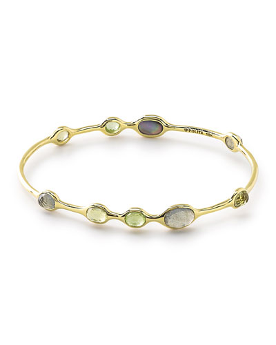 18k Rock Candy® Mountain 9-Stone Bangle
