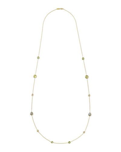 18k Rock Candy® Mountain Station Necklace, 42