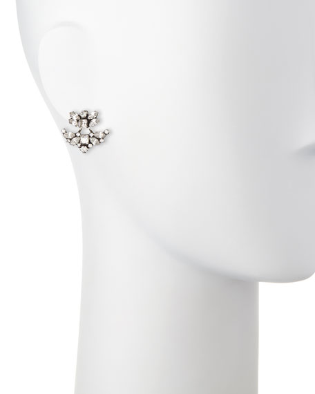 Andreas Crystal Ear Jacket/Stud Set
