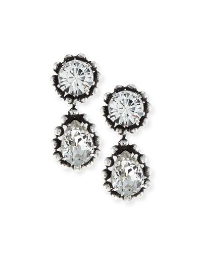 Alix Crystal Drop Earrings