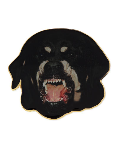 Rottweiler Badge Pin