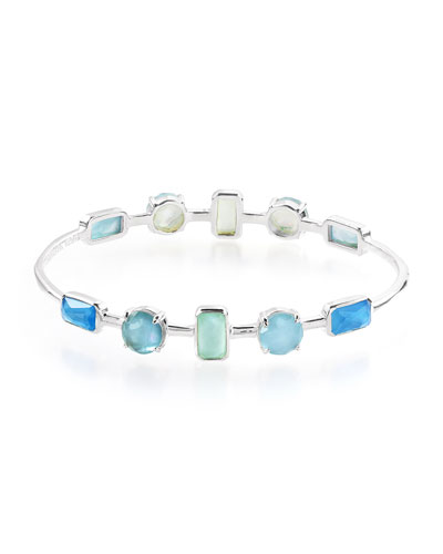 Rock Candy Wonderland 10-Stone Bracelet in Blue Star