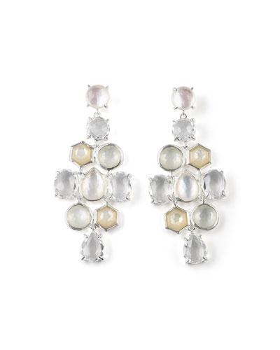 925 Rock Candy Cascade Earrings in Flirt