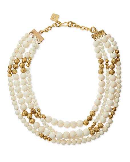 Nyumba Multi-Strand Bead Necklace