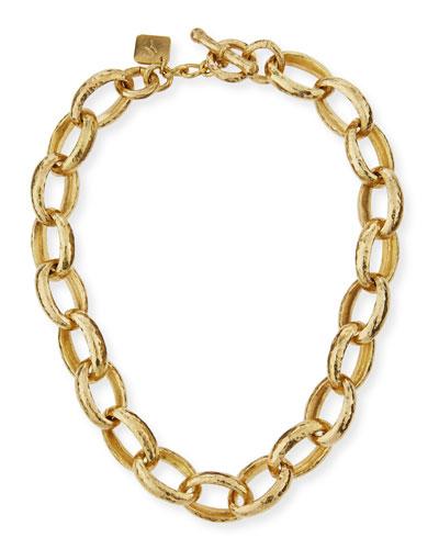Kijami Bronze Link Necklace