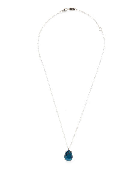 925 Rock Candy Wonderland Pear Pendant Necklace in Frost