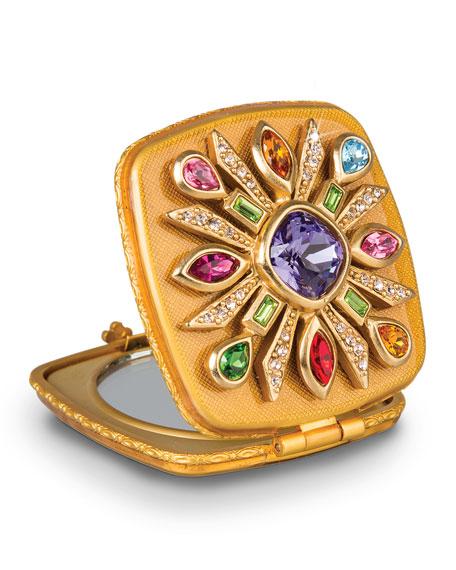 Maltese Jeweled Compact
