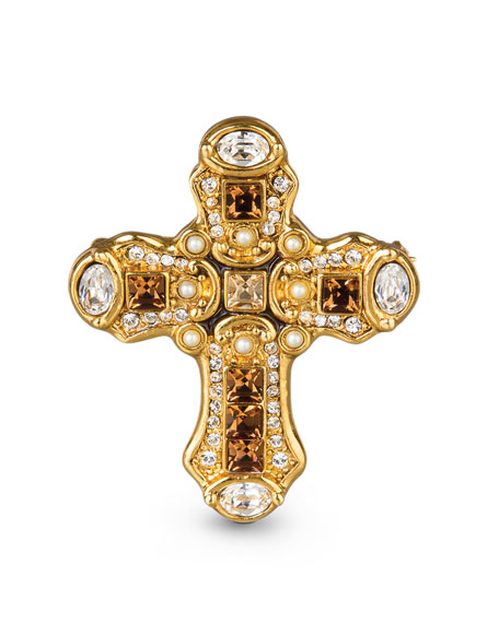 Medieval Cross Pin