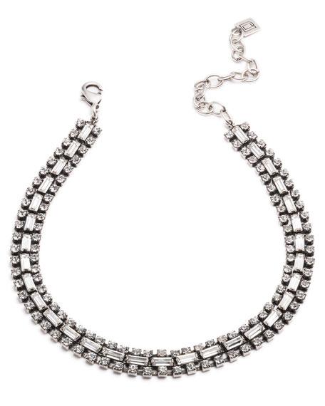 Dannijo Jihan Crystal Choker Necklace