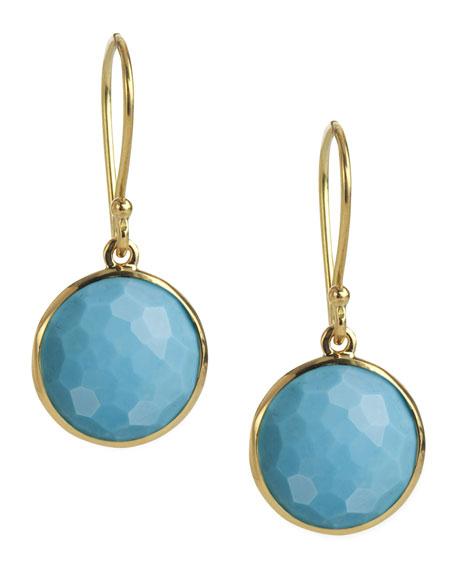 Ippolita Mini Lollipop Earrings in Turquoise