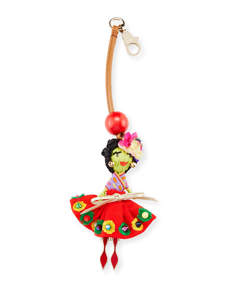 Christian Louboutin Bag Charm Doll, Multi