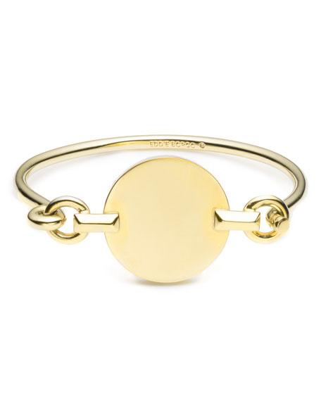 Eddie Borgo Token Tension Cuff Bracelet