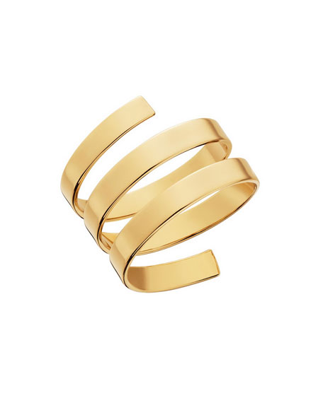 Gold Rock Wrap Ring