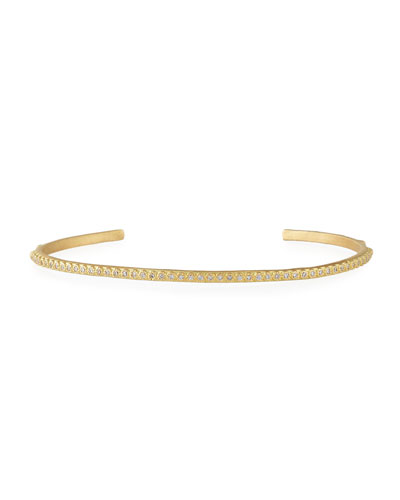 Sueno 18K Yellow Gold Bracelet with White Diamonds