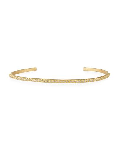 Sueno 18K Yellow Gold Bracelet with White Diamonds