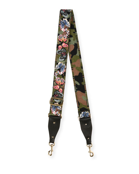 Camu Butterfly Guitar Strap for Handbag