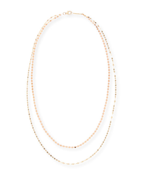 Image 1 of 1: Duo Two-Tone Layering Necklace