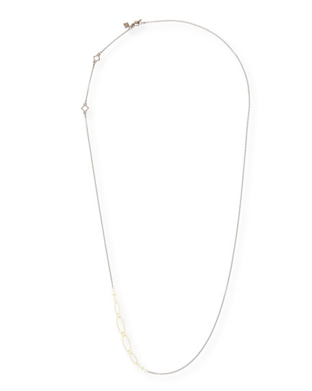 """Old World Long Chain Necklace, 32""""L"""