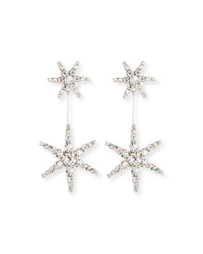 Estee Crystal Star Earrings