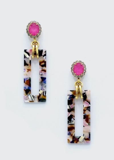 Gaylen Link Drop Earrings