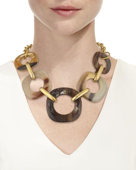 Graduating Horn-Link Necklace
