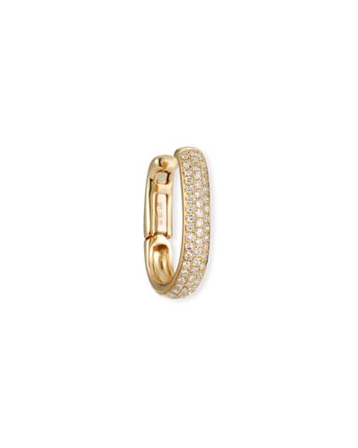 14k Triple Diamond Large Ear Cuff (Single)