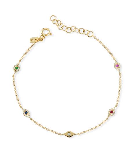 EF Collection 14k Gold Ultimate Protection Bracelet