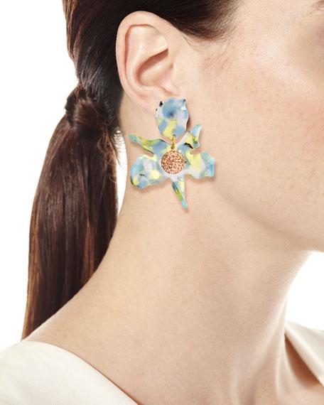 Trumpet Lily Drop Earrings