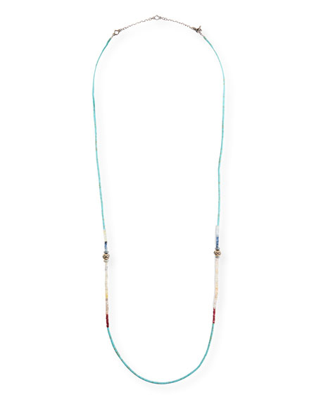 Image 1 of 1: New World Beaded Necklace
