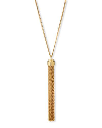 Tassel Necklace  Gold